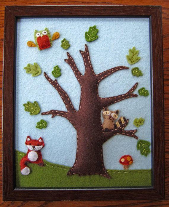 Woodland / Forest Animals Lambs & Ivy  Echo  3D by EmilysSpace, $30.00