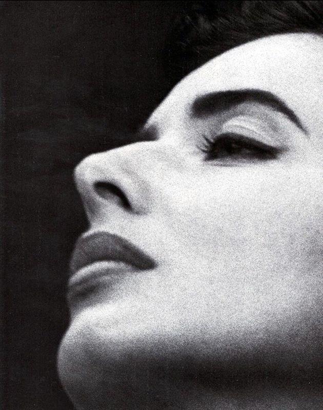Isabella Rossellini   by Steven Meisel, Vogue Italia 1989