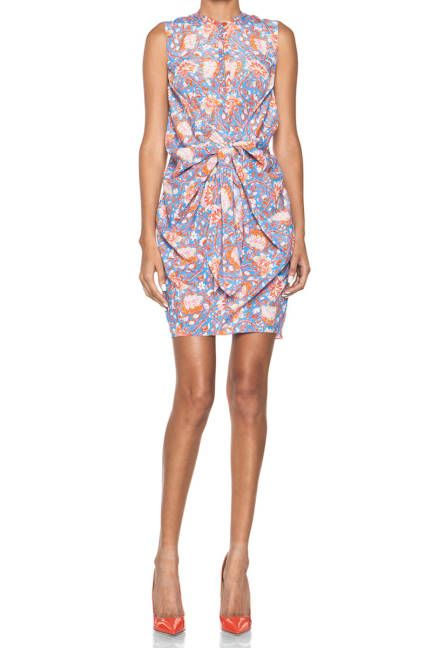Summer florals: tops, dresses, scarves, skirts, and more