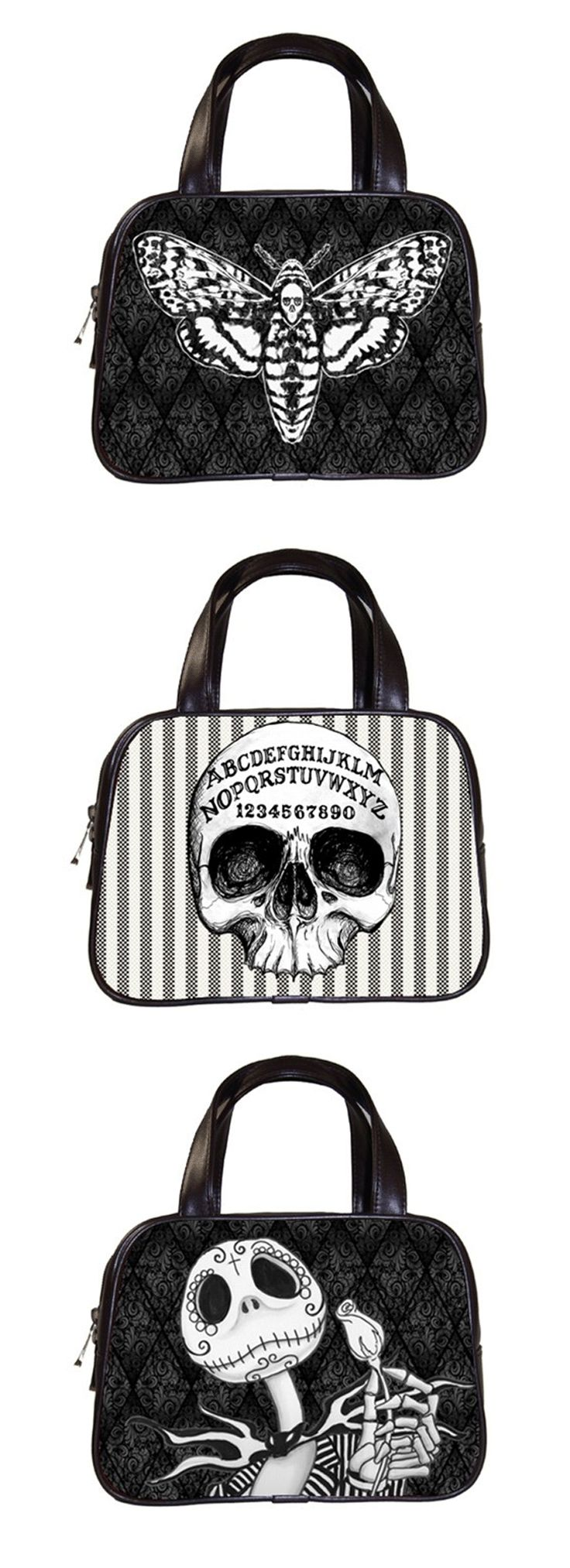 Shop cheap goth handbags and purses at RebelsMarket!