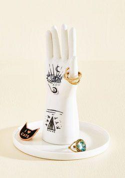 Bold Hand, Warm Heart Jewelry Stand
