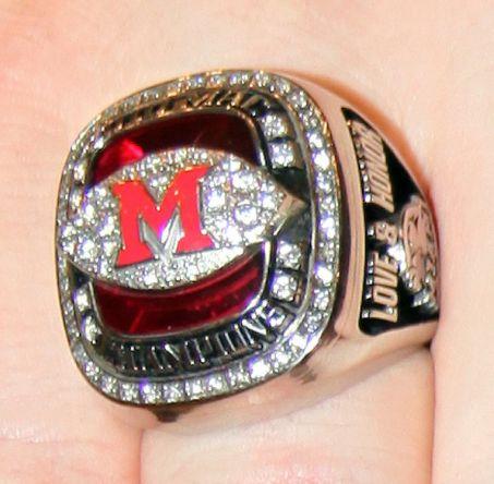 miami university championship ring