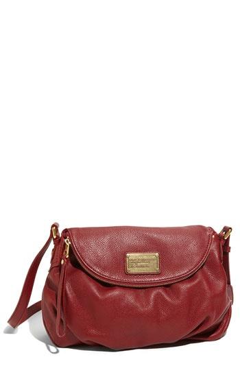 Love this bag!!! MARC JACOBS 'Classic Q - Natasha' Crossbody Flap BagShoulder Bags, Red Classic, Jacobs Classic, Marc Jacobs, Bags Enhancer, Pleated Bags, Flap Bags, Natasha Crossbody, Crossbody Flap