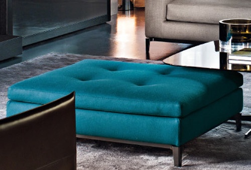 Minotti Andersen Bench modern ottomans and cubes