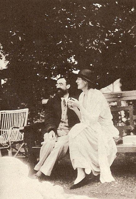 Virginia Woolf & Lytton Strachey