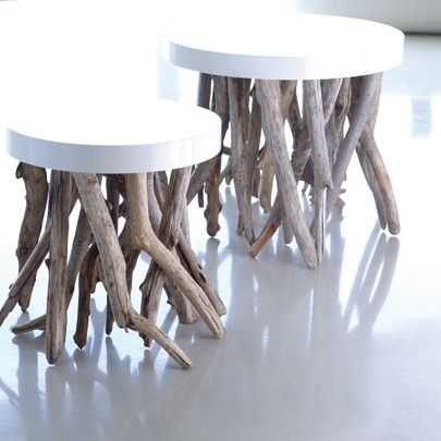 bleu nature drift wood furniture .