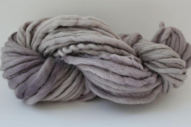 Sandstone Color Chunky Hand  Spun Hand Dyed  Roving Wool Hand Knitting Yarn
