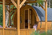Herzlich Willkommen im Camping Residence Chalet CORONES - Südtirol - Rasen - Antholz - Dolomiten