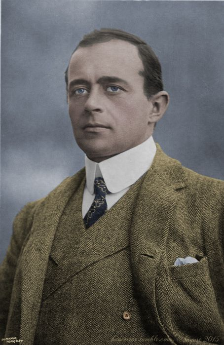 Robert Falcon Scott, portrait published in 1912, the year of his deathOriginal