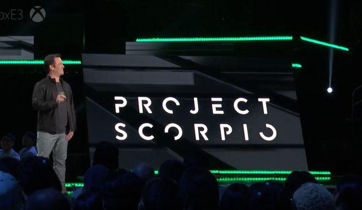 Phil+Spencer+ha+dichiarato+che+Project+Scorpio+sarà+4.5+volte+più+potente+di+Xbox+One