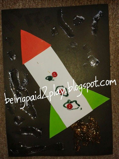 Being Paid 2 Play: Glitter Glue Rocket