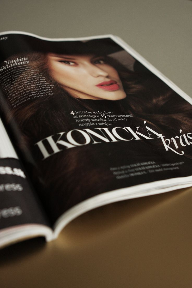 layout / etitions / magazine / fashion / beauty EMMA magazine redesign © Mikina Dimunova