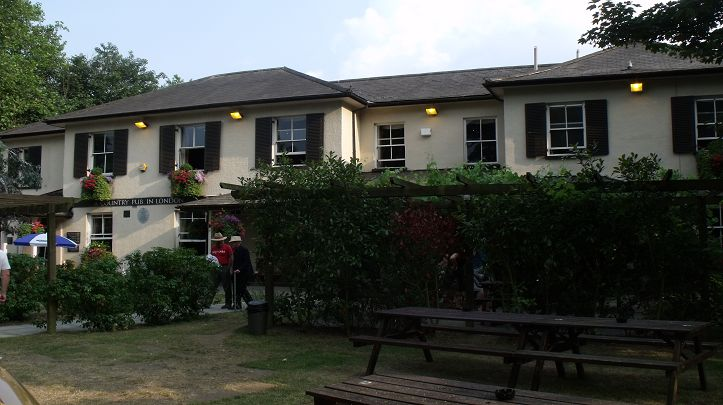 The Telegraph - A beautiful country pub, tucked away in the heart of Putney Heath yet only 15 minutes from the chaos of Putney High Street! This provides visitors with an opportunity to escape the hustle and bustle as they relax in the stylish bar and dining room or under the vine laden pergola of the pub's pretty garden.