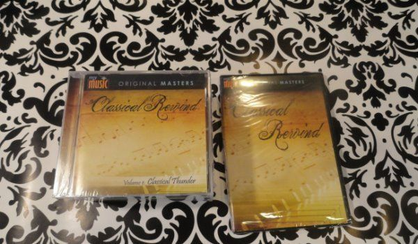 My Music Original Masters Classical Rewind Vol 1- 8 CD DVD Set New Sealed PBS #Ballet