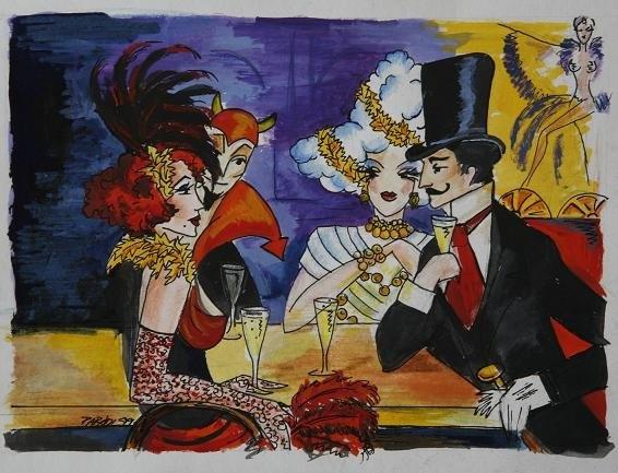 Moulin Rouge Budapest - Revue Déja Vue - costumes by Parádi Gabriella