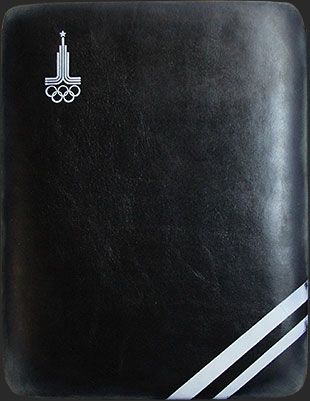 Кожаный чехол Олимпийский для iPad в стиле Советской эпохи