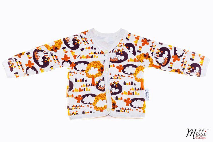 Neulostakki, Orange Carrots - Melli EcoDesign - kotimaiset lastenvaatteet,