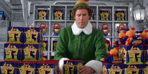 """Buddy the Elf, What's your favorite color?"""