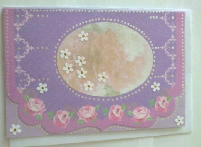 Babičkovské baroko Ručně vyrobené přáníčko/komplimentka pro každou příležitost. Obálka v ceně :-). Při nákupu nad 500,00 Kč poštovné zdarma!