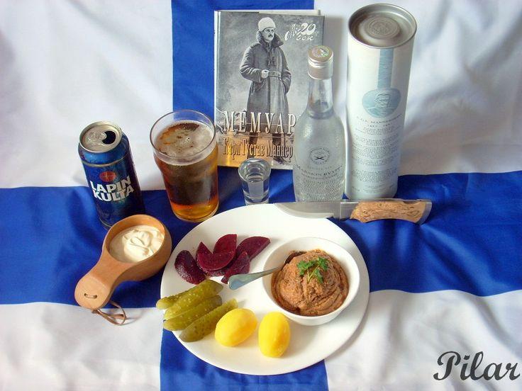 Маршальский форшмак (Marskin Vorschmack) - Финская кухня: p_i_l_a_r