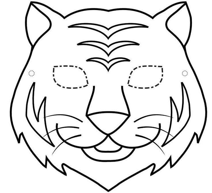 Ms de 25 ideas increbles sobre Mascara de animales en Pinterest