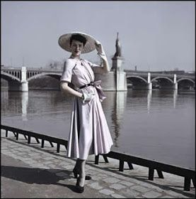 The Girl with the Star-Spangled Heart: Inspiration: 1940s Post-War Fashions
