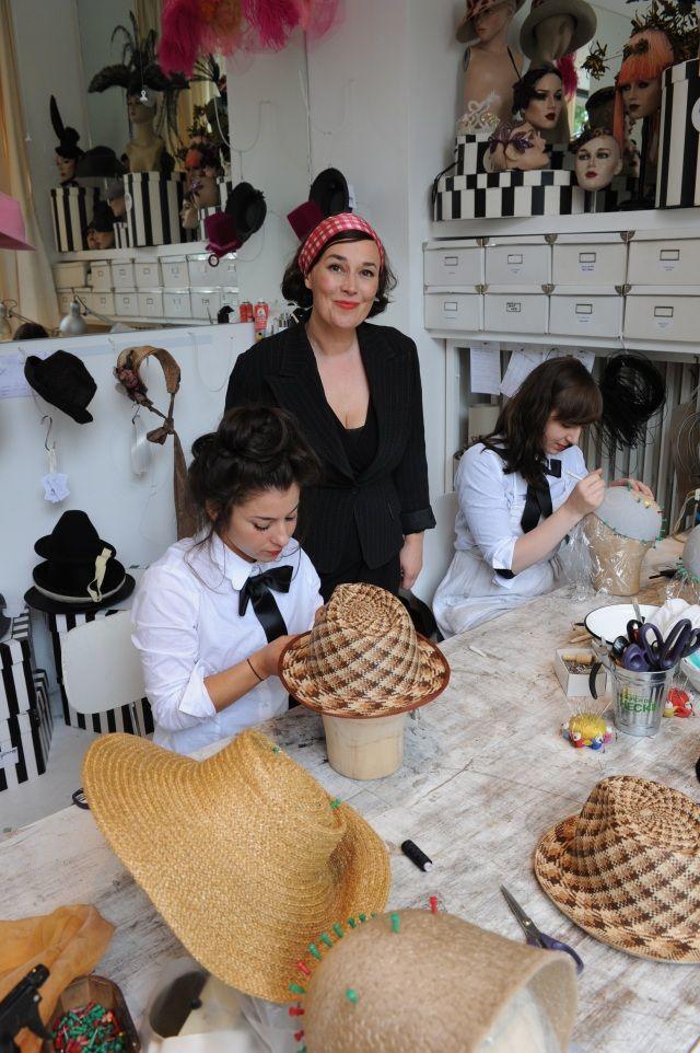 Verführer - Das Beste aus Berlin: Berliner Modedesigner - Die Menschen hinter dem Label: Fiona Bennett - Der Popstar unter den Hutdesignern