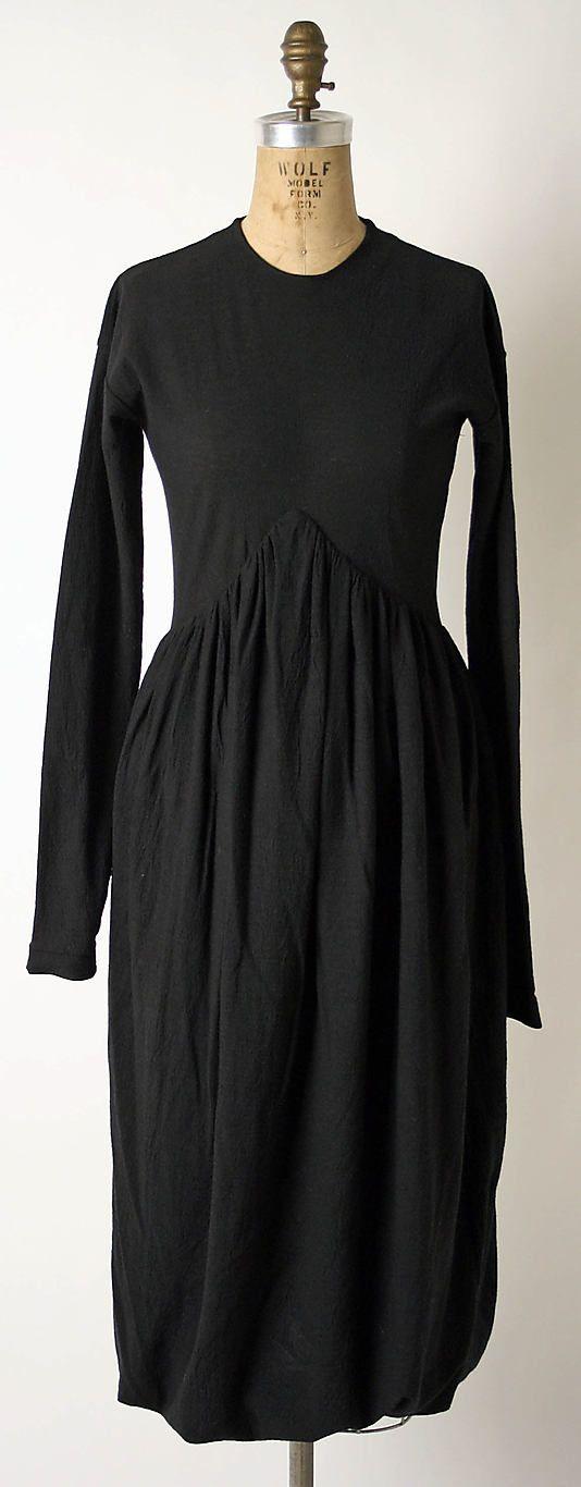 Dress by Romeo Gigli: Italian, wool/nylon blend, 1990-95