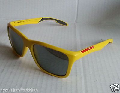 #PRADA SPS 04O DHD-7W1 YELLOW frame Mirror Lens New Sunglass 100% Authentic visit our ebay store at  http://stores.ebay.com/esquirestore