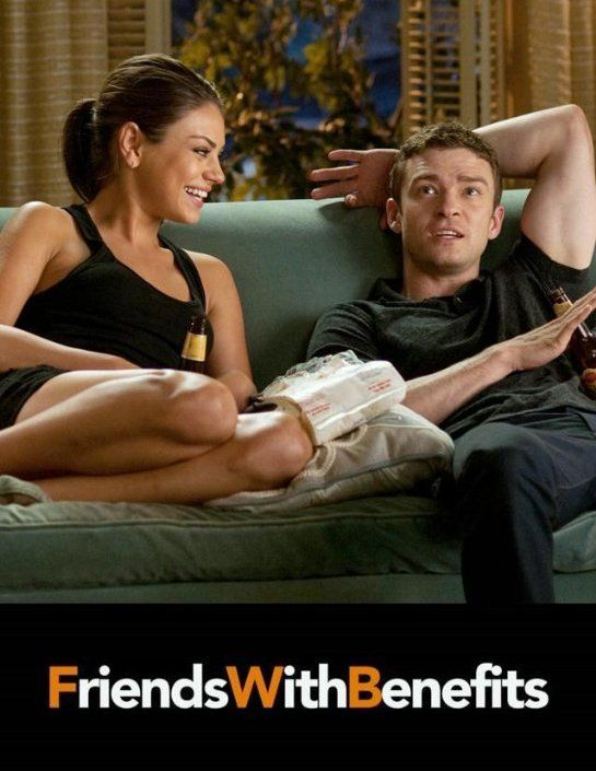 Friends With Benefits...really funny plus it's cool that they're good friends in real life.