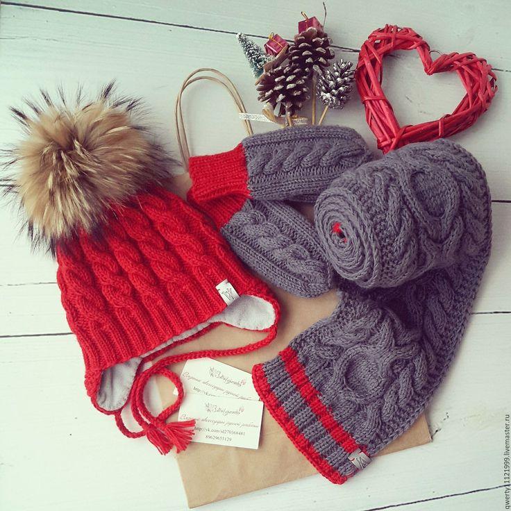 понадобятся некоторых красные варежки и шарфы для фотосессии интересно знать решили