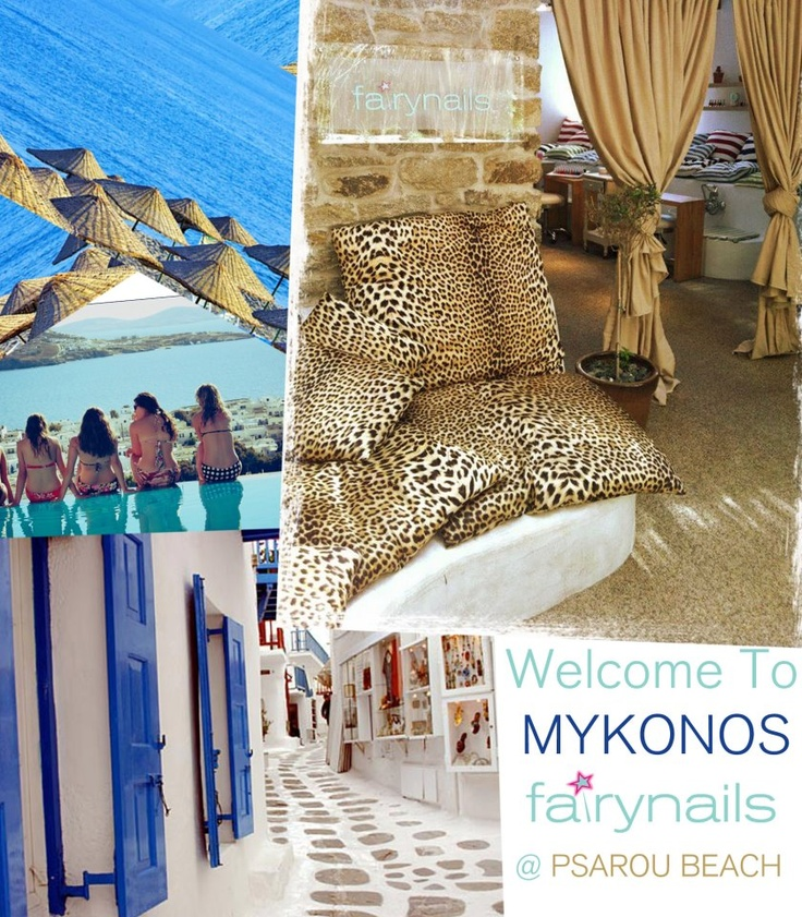 WELCOME TO Mykonos Fairynails
