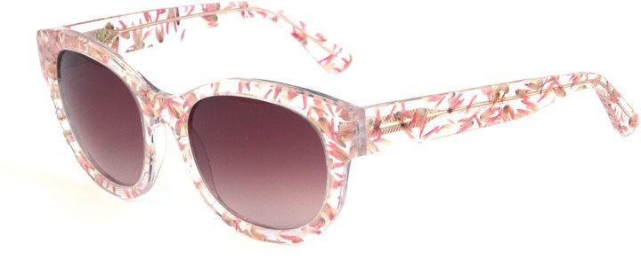 Heidi London - Floral Embedded Square Sunglasses