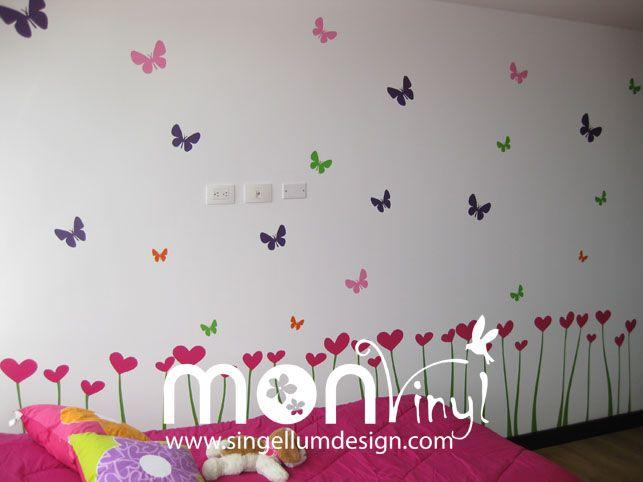 20 best images about vinilos infantiles on pinterest for Stickers decorativos de pared