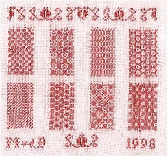 KenV 9505: Patroon stoplap. SEASONS GREETINGS