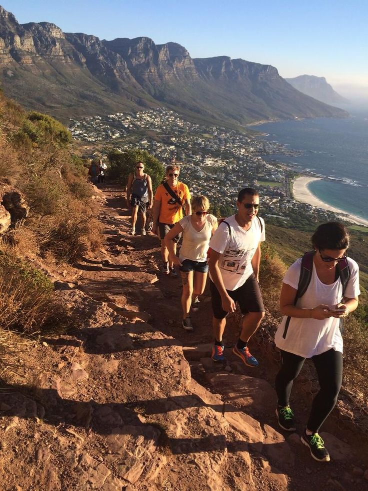 Some after work activities for @howiewest @twodayhangover and the team #CapeTown #lionshead #phdrunclub