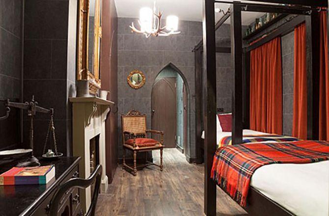 Hotel em Londres cria quartos temáticos de Harry Potter | #Cenários, #FlávioCroffi, #GeorgianHouseHotel, #HarryPotter, #Londres, #QuartosTemáticos, #WarnerBros