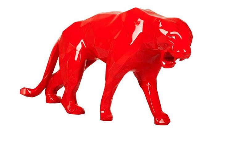 Panthère rouge, Richard Orlinski