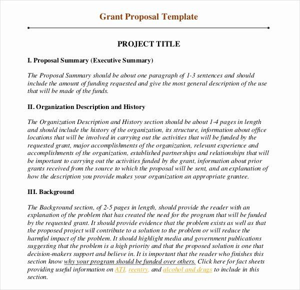 Sample Grant Proposal Non Profit Best Of Grant Writing Template 8 Free Word Pdf Ppt Documents Danny Grant Proposal Grant Proposal Template Proposal Writing