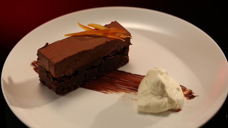 Kerrie and Craig's Chocolate Jaffa Mousse Cake from season 4 of My Kitchen Rules: http://gustotv.com/recipes/dessert/chocolate-jaffa-mousse-cake/