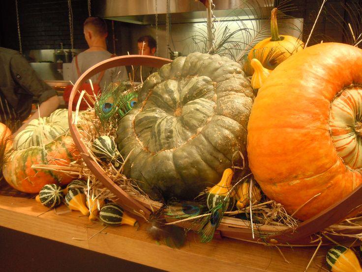 pumphouse food display