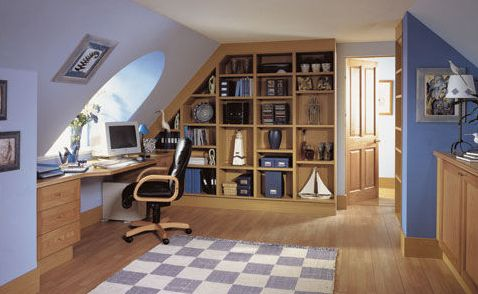 Need some quiet time to get on with your work make your own personal office space in your loft.