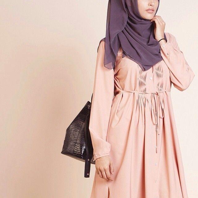 Pink tunic shirtdress by Inayah