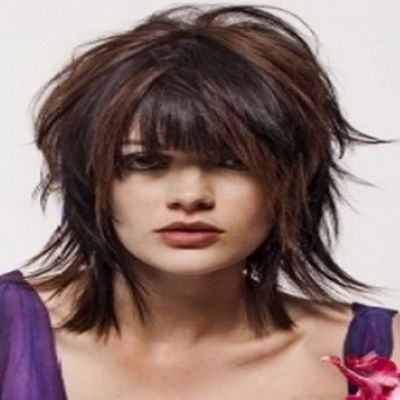 style mid length hair shaggy hairstyles pictures to pin on 3297