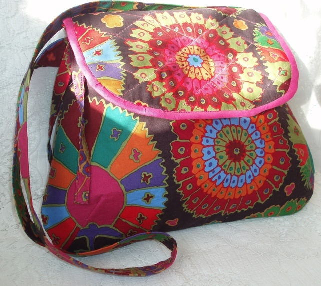 Bright and vibrant bag!