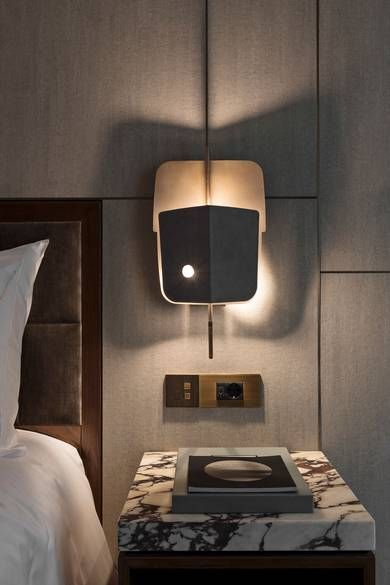 """""""Luxury lives in the finer details"""" - IGGY AZALEA - (Fendi Suites Hotel in Rome  designed by Architect Marco Costanzi. Detail of the new """"Velum"""" Lamp from Fendi Casa)"""