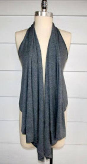 DIY Vest From A T-Shirt!