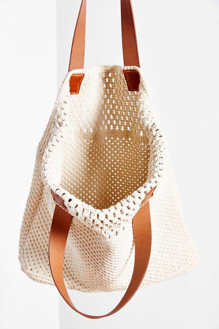 Oversized Macrame Tote Bag                                                                                                                                                                                 More