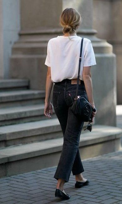 What happens when you were a white tee for 5 days straight? Click to see how how to elevate the casual staple and transport it to fashion-girl territory.