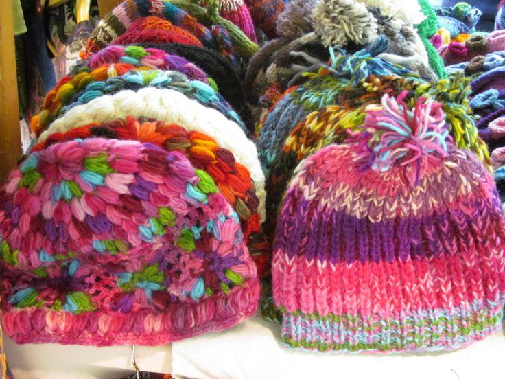 Štrikované a jedinečné čiapky